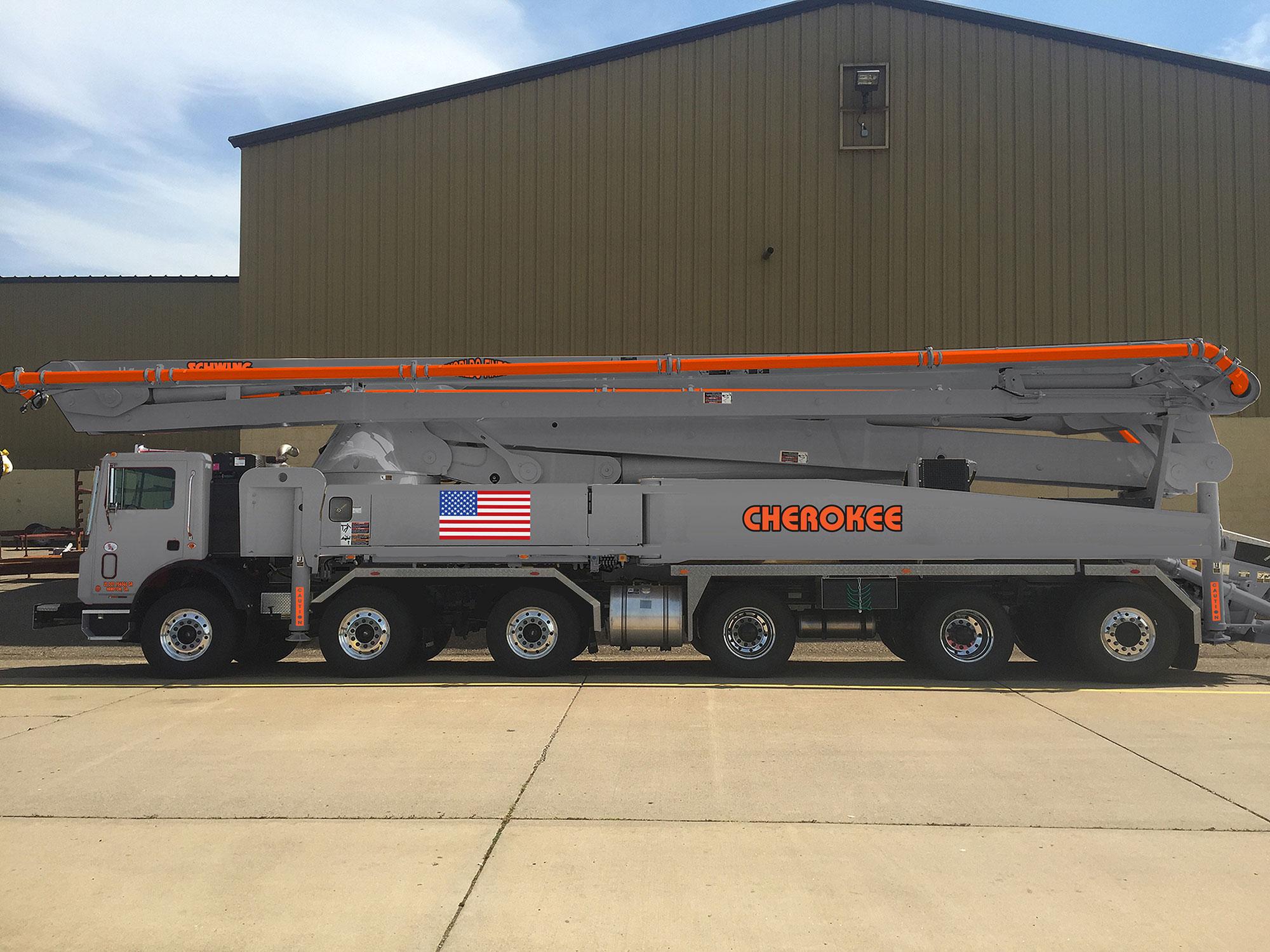 Schwing S 58 SX - 58 Meter Pump